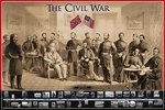 The American Civil War - Maxi Paper Poster