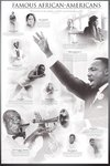 Famous African Americans - Maxi Paper Poster