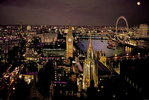 London - Aerial View Colour - Maxi Paper Poster
