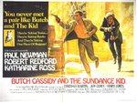 Butch Cassidy and the Sundance Kid - Vintage Paper Poster