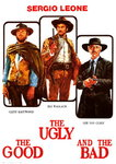 The Good The Ugly and the Bad - Vintage Paper Poster