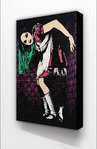 Banksy - Alice In Wonderland Vertical Block Mount