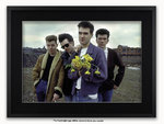 Framed with BLACK mount The Smiths Manchester 1983 Yellow Flowers Poster