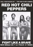 Red Hot Chill Peppers - Socks - Vertical Paper Poster