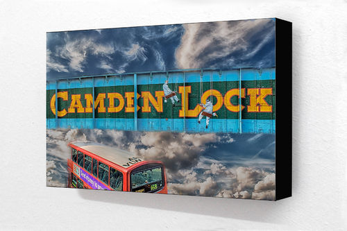 Camden to heaven Col H Block Mounted Print