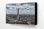 The Shard Col H Block Mounted Print