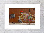 Banksy Indian No Trespassing Print