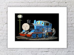 Banksy Thomas The Tank Mounted Print