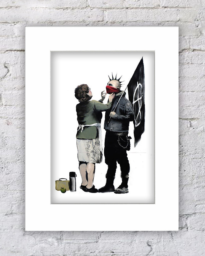 Banksy Punk & Mother
