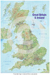 United Kingdom Map - 2015 Edition - Poster
