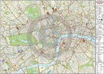 Central London Map - Maxi Paper Poster