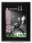 Framed with BLACK mount The Clash - London Calling