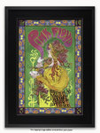 Framed with BLACK mount Pink Floyd - Marquee '66 - Poster