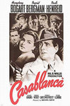 Casablanca - Red Text US - XL Paper Poster